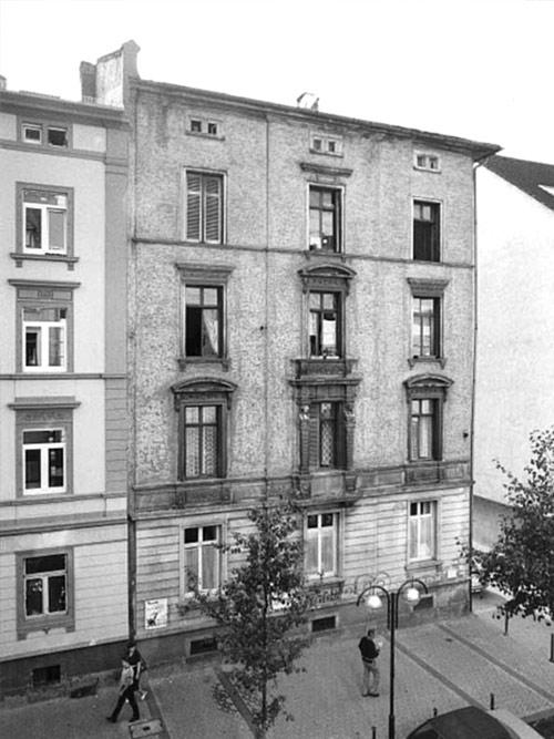 """Berger Straße Frankfurt 142 Quelle """"DenkXweb"""""""