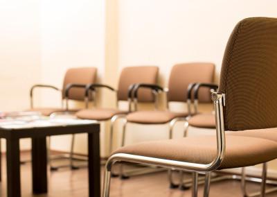 Patienten-Wartebereich